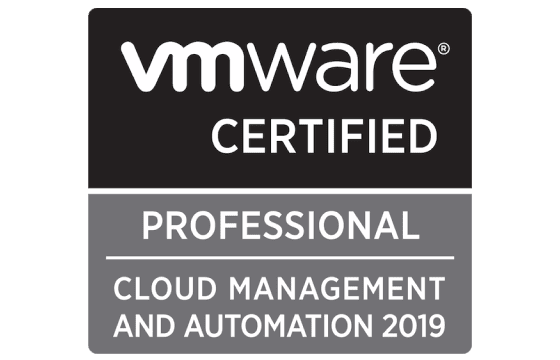 VMware Certified Professional - Cloud Management and Automation 2019